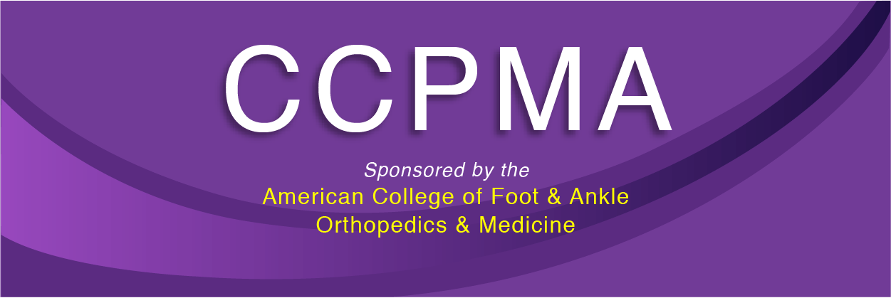 Certified Clinical Podiatric Medical Assistant Ccpma Course The